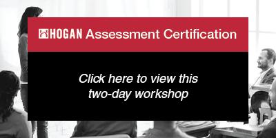 Hogan Assessment Certification: click to view
